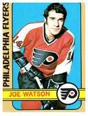 1972 Topps Joe Watson Philadelphia Flyers