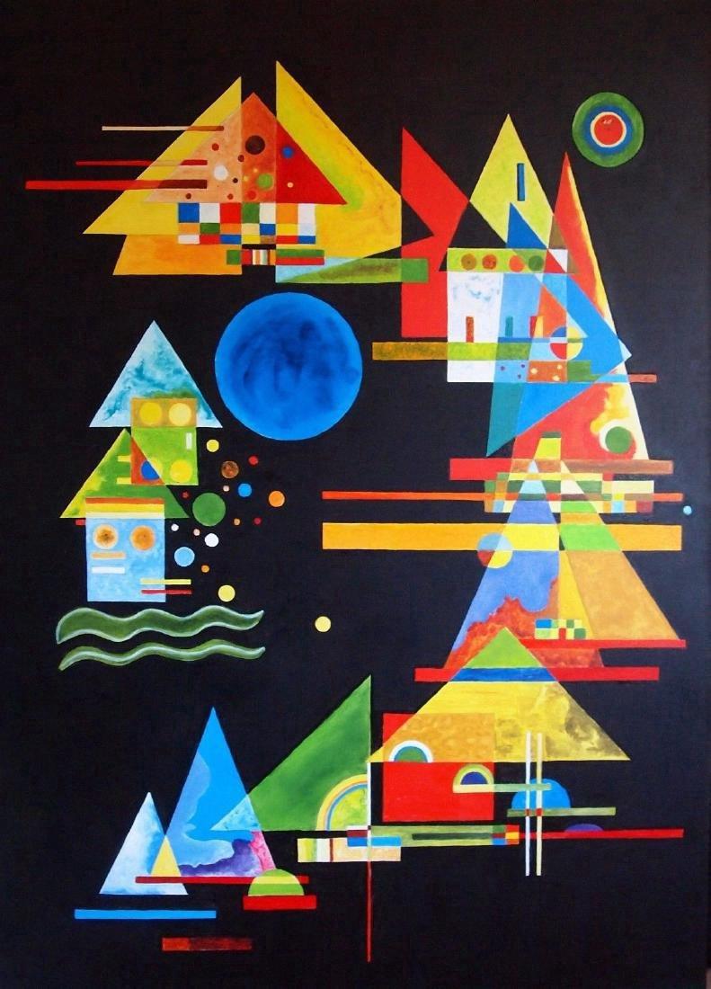 Vassily Kandinsky, After: Oil on Canvas
