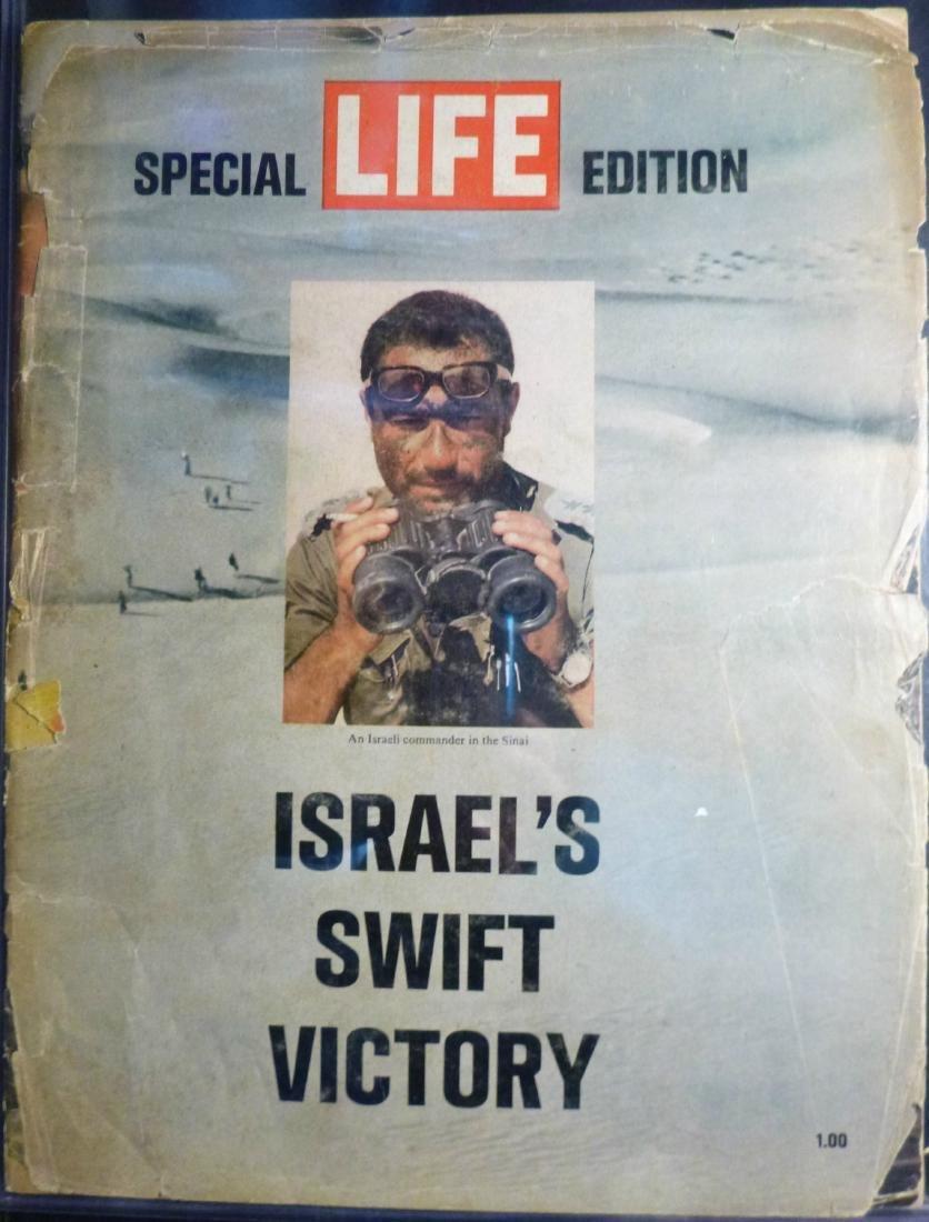 The Six Day War Life Magazine Israel's Swift Victory