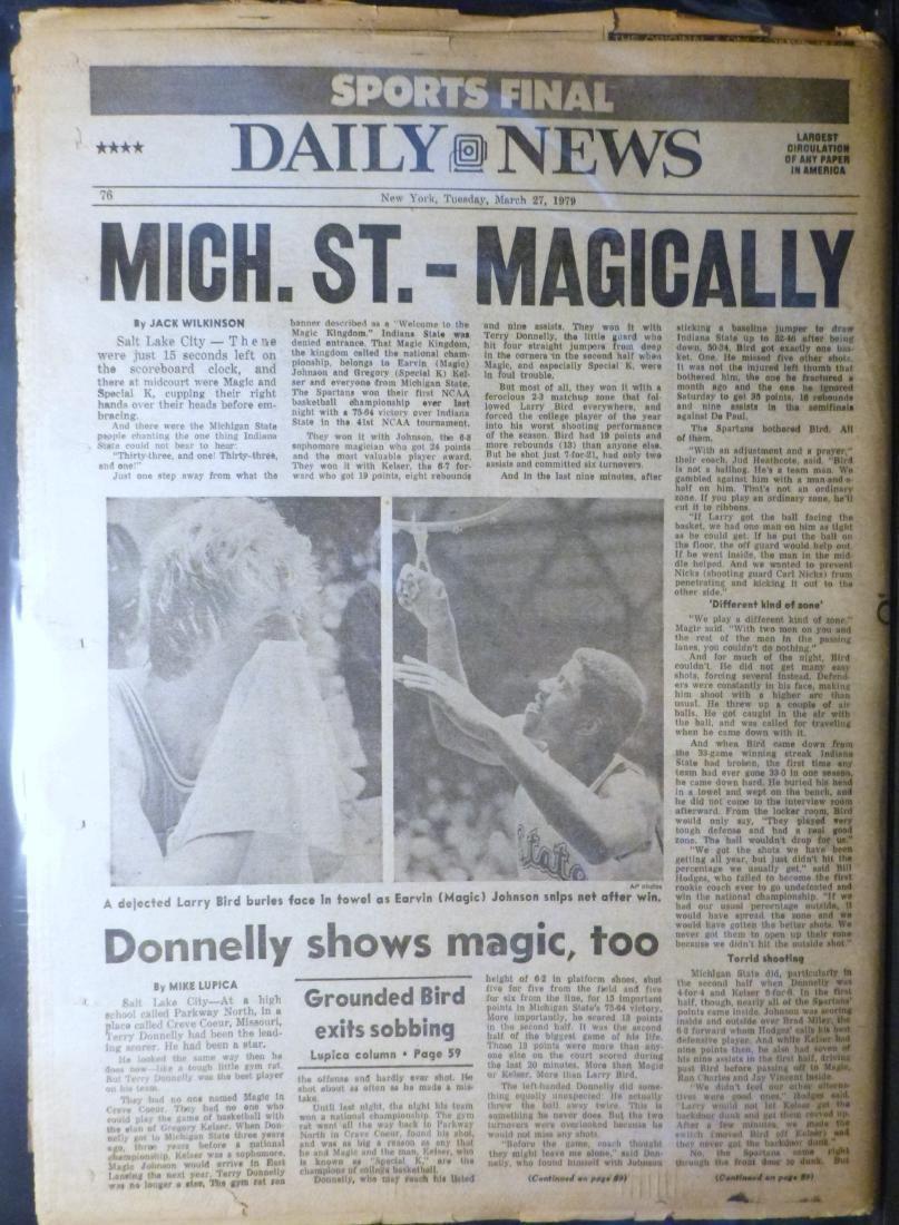 NY Daily News - Israel, Egypt Peace Treaty - March 1979 - 2