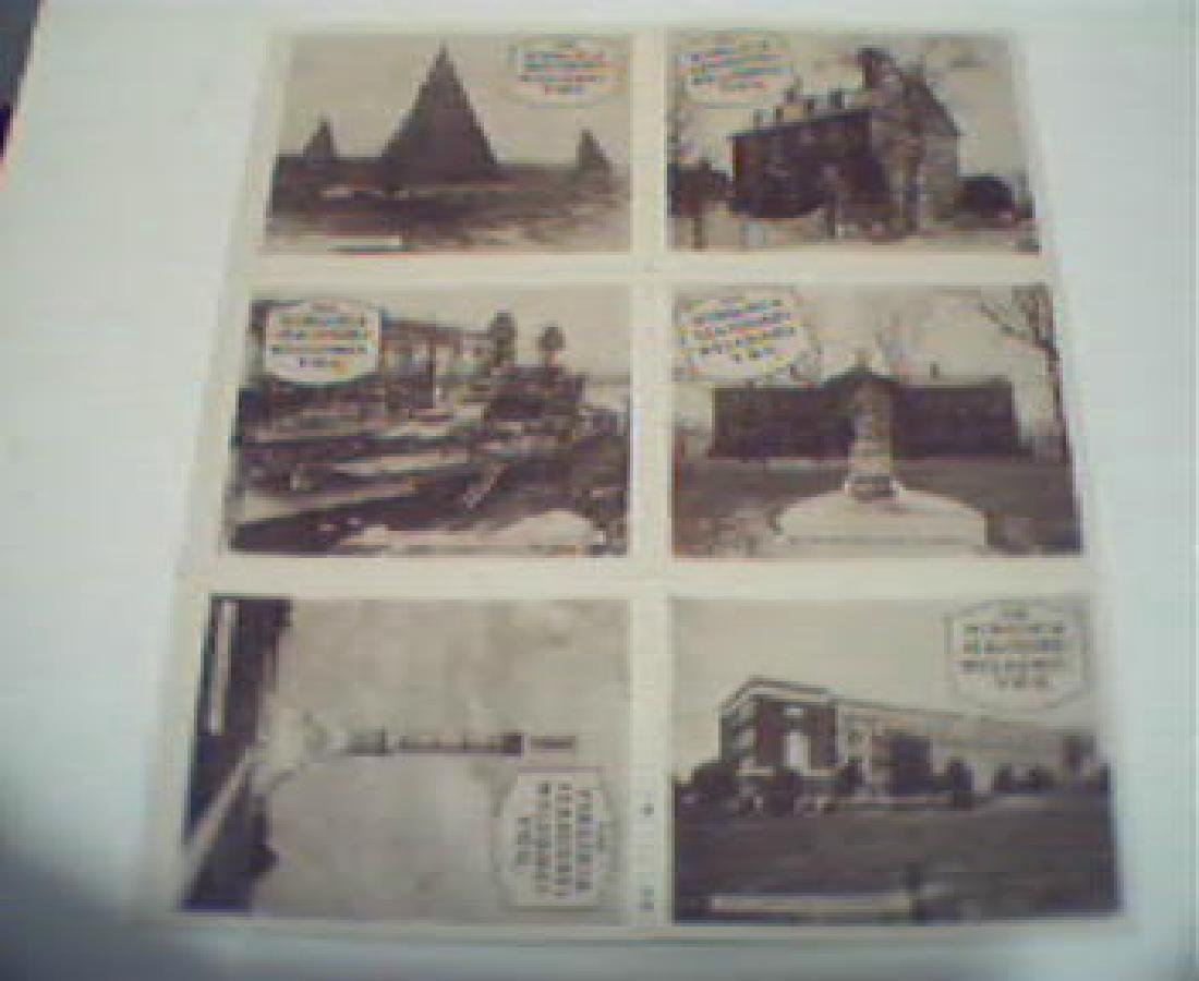 Group of Poster Stamps-uss Arizona! C1930!