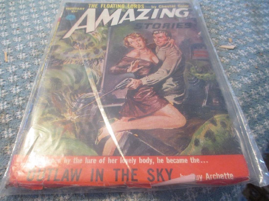 Amazing Stories Magazine 2/1953 Guy Archette