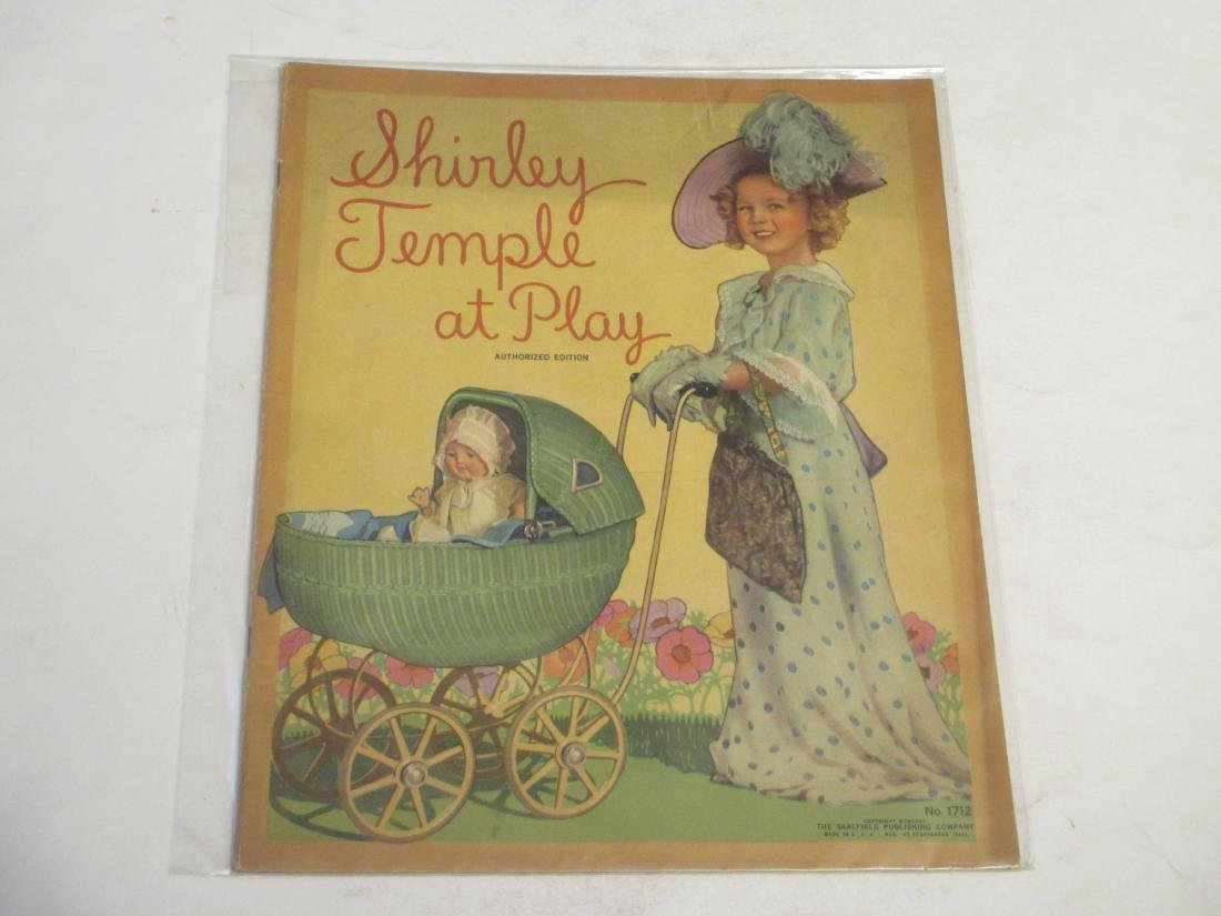 Shirley Temple at Play 1935 Authorized Edition