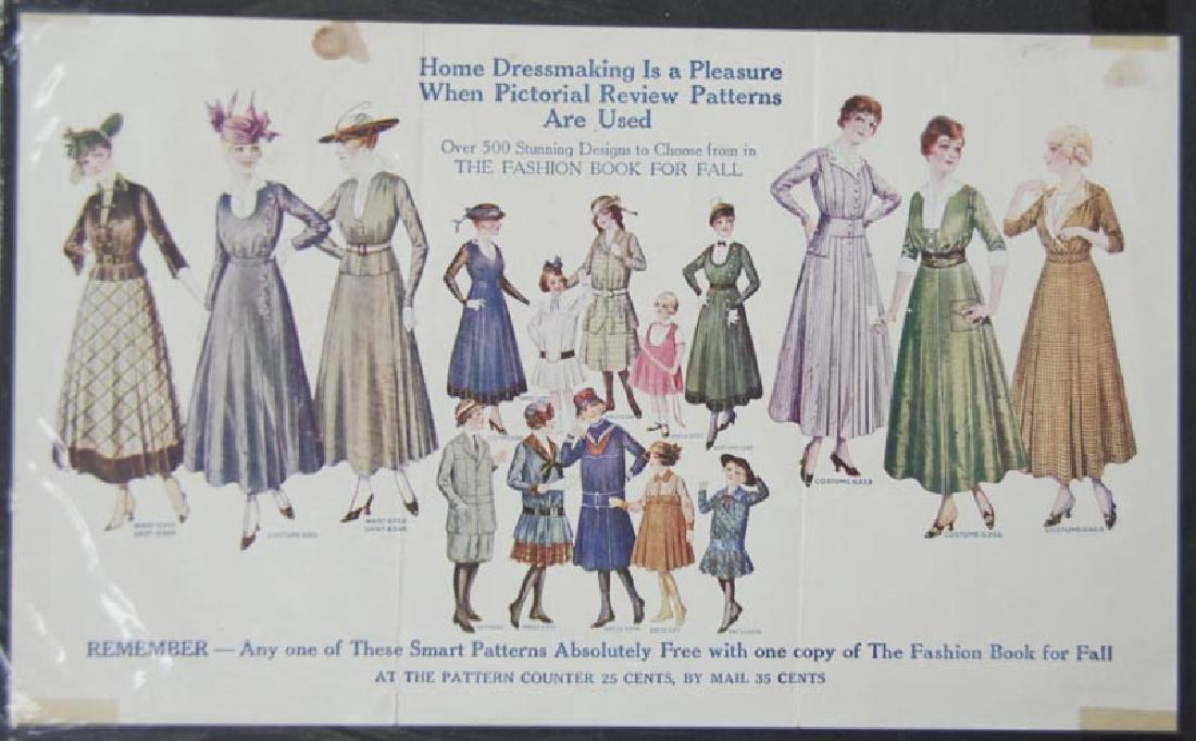 Home Dressmaking Pleasure Pictorial Reveiw Patterns