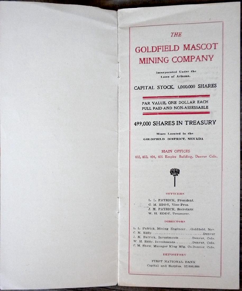 The Goldfield Mascot Mining Company