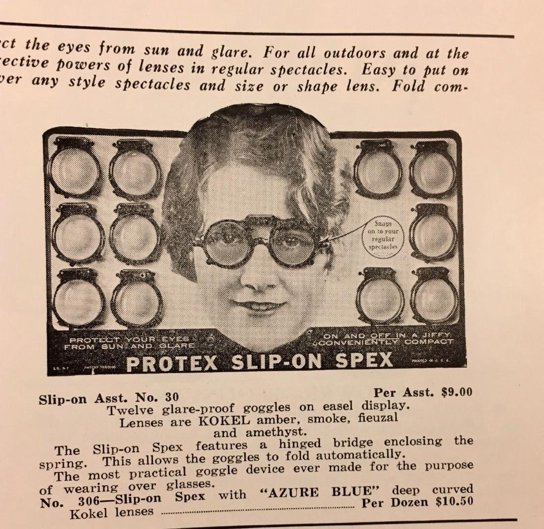 Antique Vintage Spencer Optical Illustrated Catalog