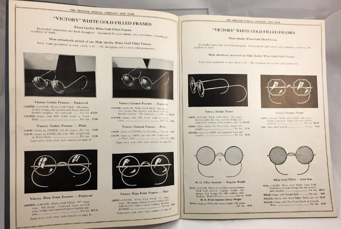Antique Vintage Spencer Optical Illustrated Catalog - 3