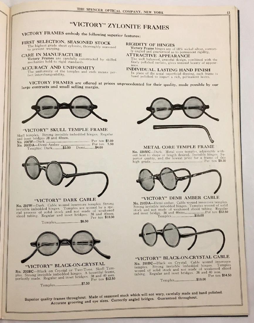 Antique Vintage Spencer Optical Illustrated Catalog - 4