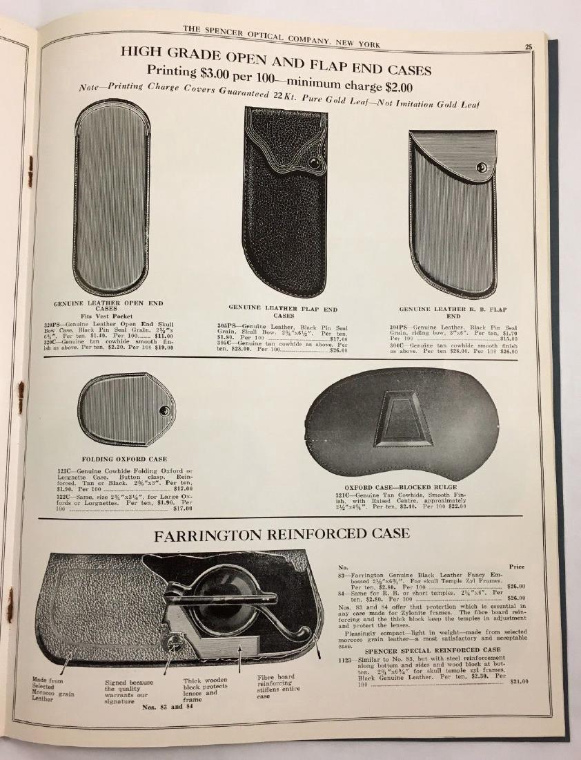 Antique Vintage Spencer Optical Illustrated Catalog - 5