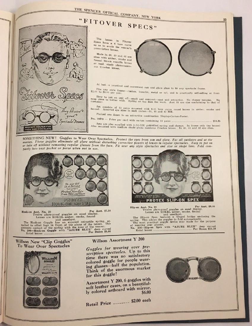 Antique Vintage Spencer Optical Illustrated Catalog - 7