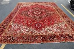 "Antique Persian Heriz Serapi Carpet Rug 10' x 13'5"""