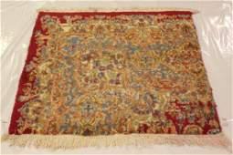"Handmade Persian Wool Rug 3'4"" x 3'4"""