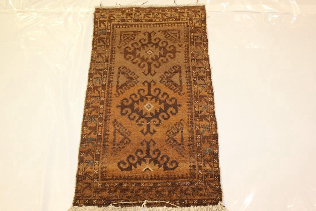"Semi Antique Persian Rug 2'1"" x 3'8"""