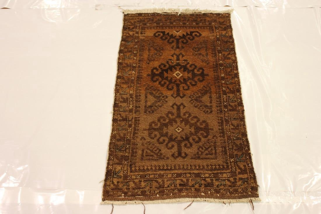 "Semi Antique Persian Rug 2'1"" x 3'8"" - 2"