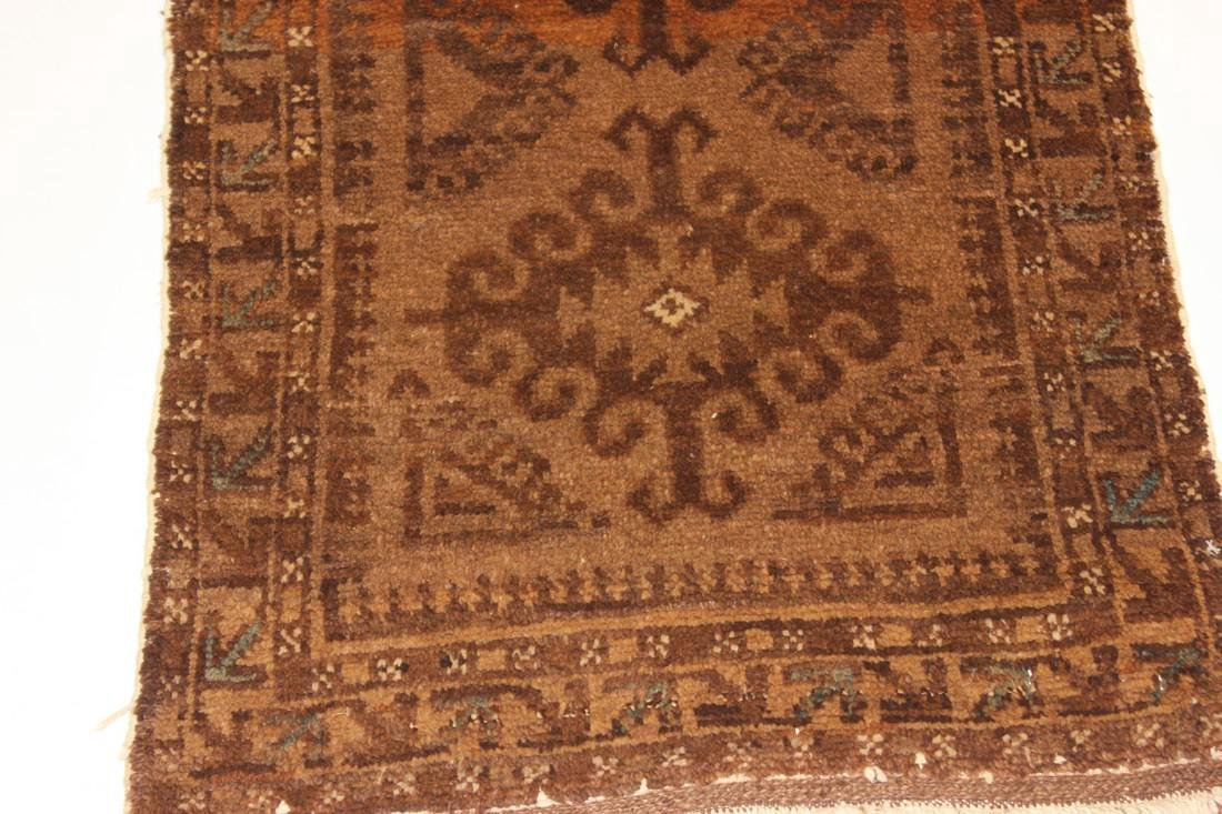 "Semi Antique Persian Rug 2'1"" x 3'8"" - 3"