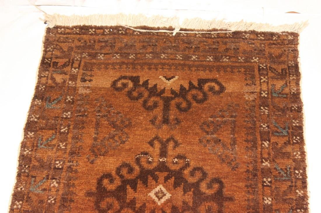 "Semi Antique Persian Rug 2'1"" x 3'8"" - 4"