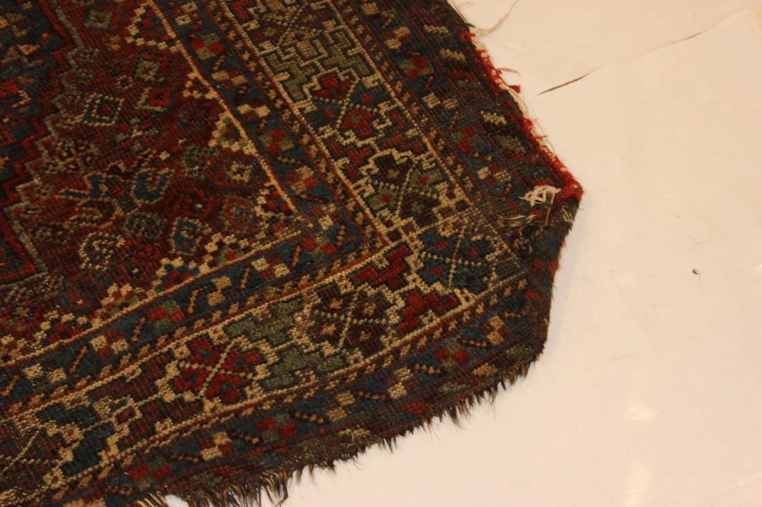 """Handmade Antique Shiraz Rug 5'4"""" x 6'4"""" - 10"""