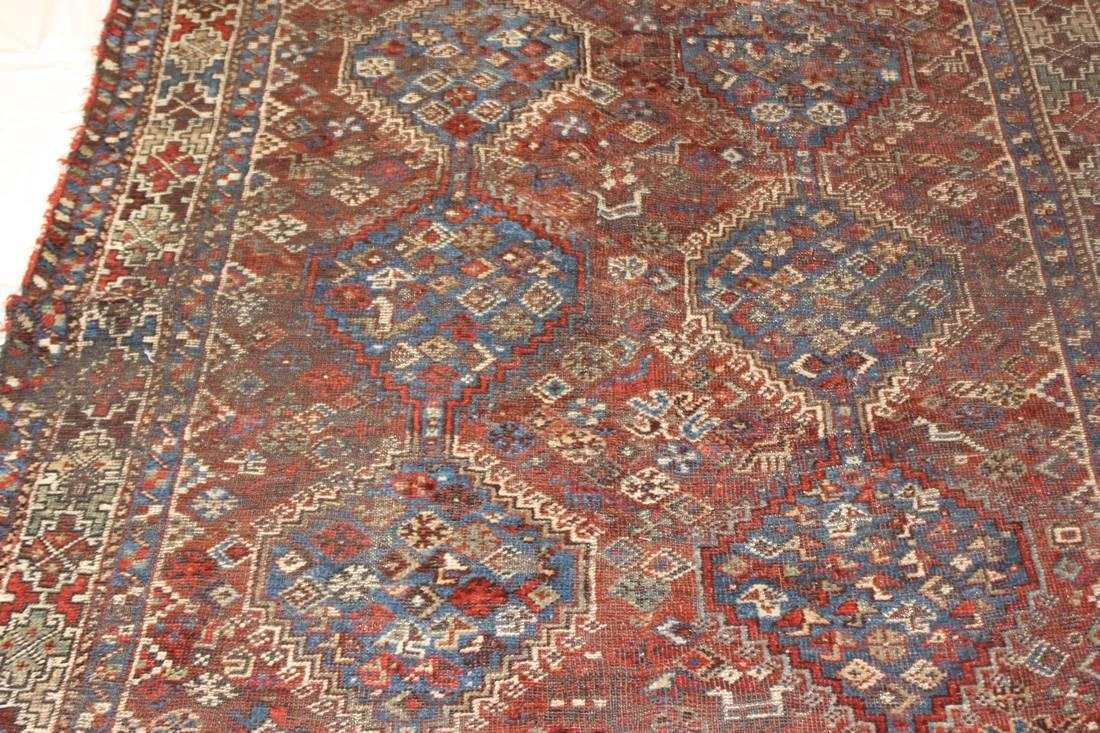 """Handmade Antique Shiraz Rug 5'4"""" x 6'4"""" - 4"""