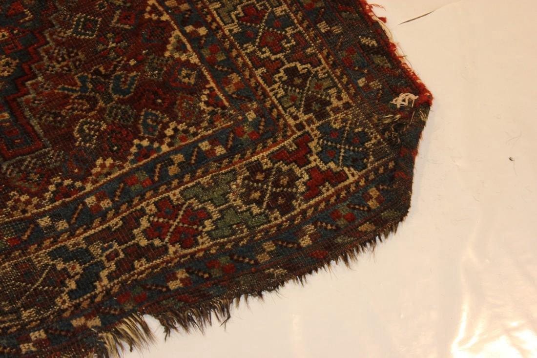 """Handmade Antique Shiraz Rug 5'4"""" x 6'4"""" - 6"""