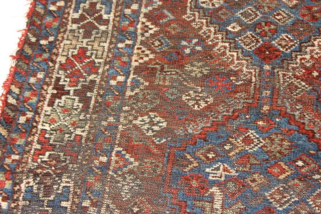 """Handmade Antique Shiraz Rug 5'4"""" x 6'4"""" - 8"""
