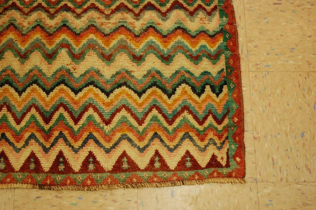 "Antique Persian Kourd Bijar Halvai Wool Rug 3'6"" x 6' - 2"