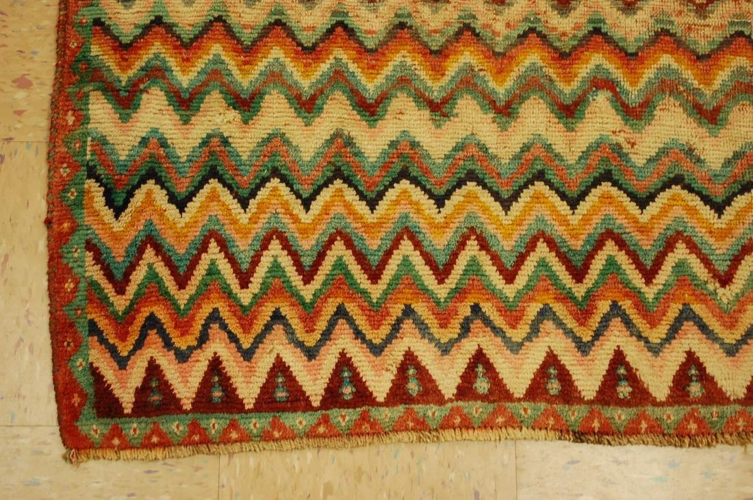 "Antique Persian Kourd Bijar Halvai Wool Rug 3'6"" x 6' - 3"