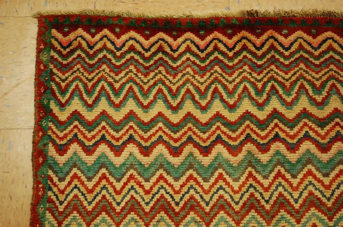 "Antique Persian Kourd Bijar Halvai Wool Rug 3'6"" x 6' - 4"