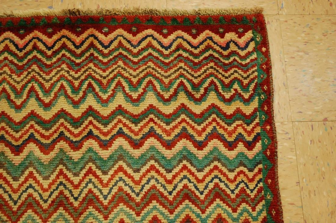 "Antique Persian Kourd Bijar Halvai Wool Rug 3'6"" x 6' - 5"