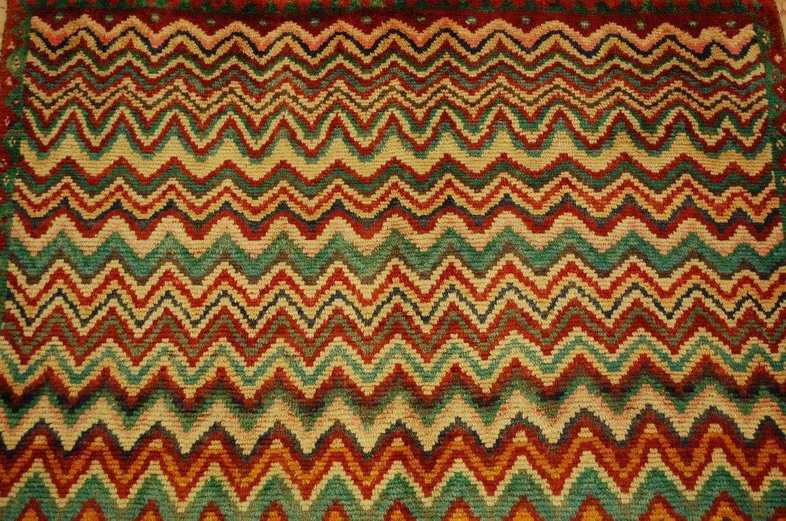 "Antique Persian Kourd Bijar Halvai Wool Rug 3'6"" x 6' - 6"