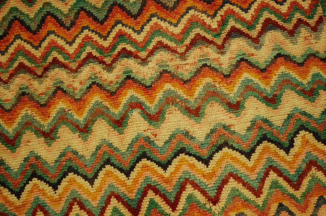 "Antique Persian Kourd Bijar Halvai Wool Rug 3'6"" x 6' - 7"