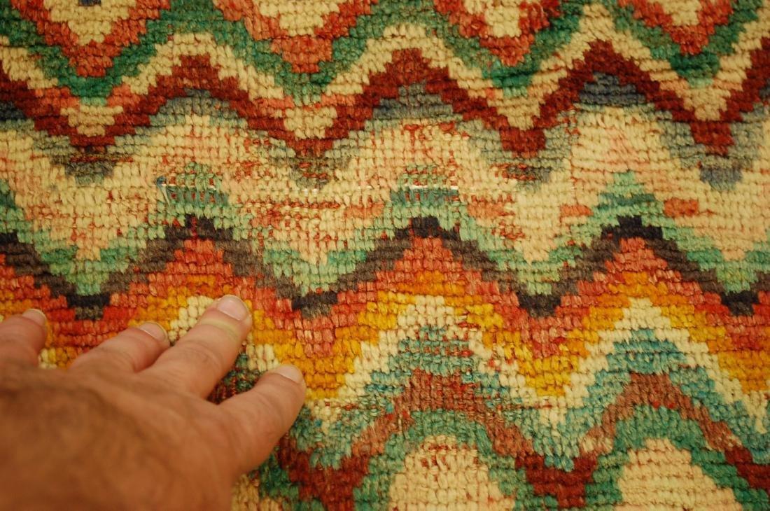 "Antique Persian Kourd Bijar Halvai Wool Rug 3'6"" x 6' - 8"