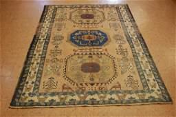 Antique Caucasian Shirvan Kazak Wool Rug 46 x 6 3