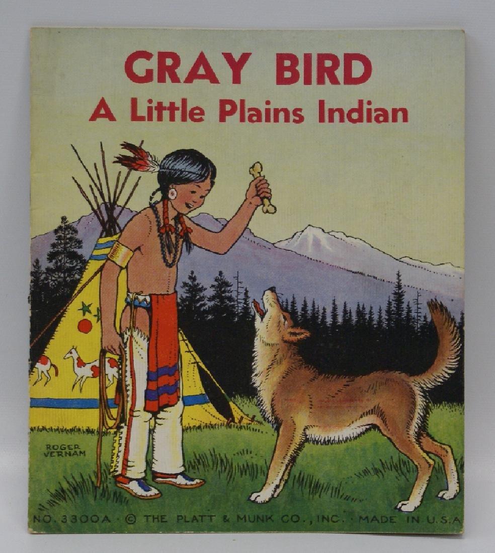 1935 Gray Bird, Little Plains Indian Book, Roger Vernam