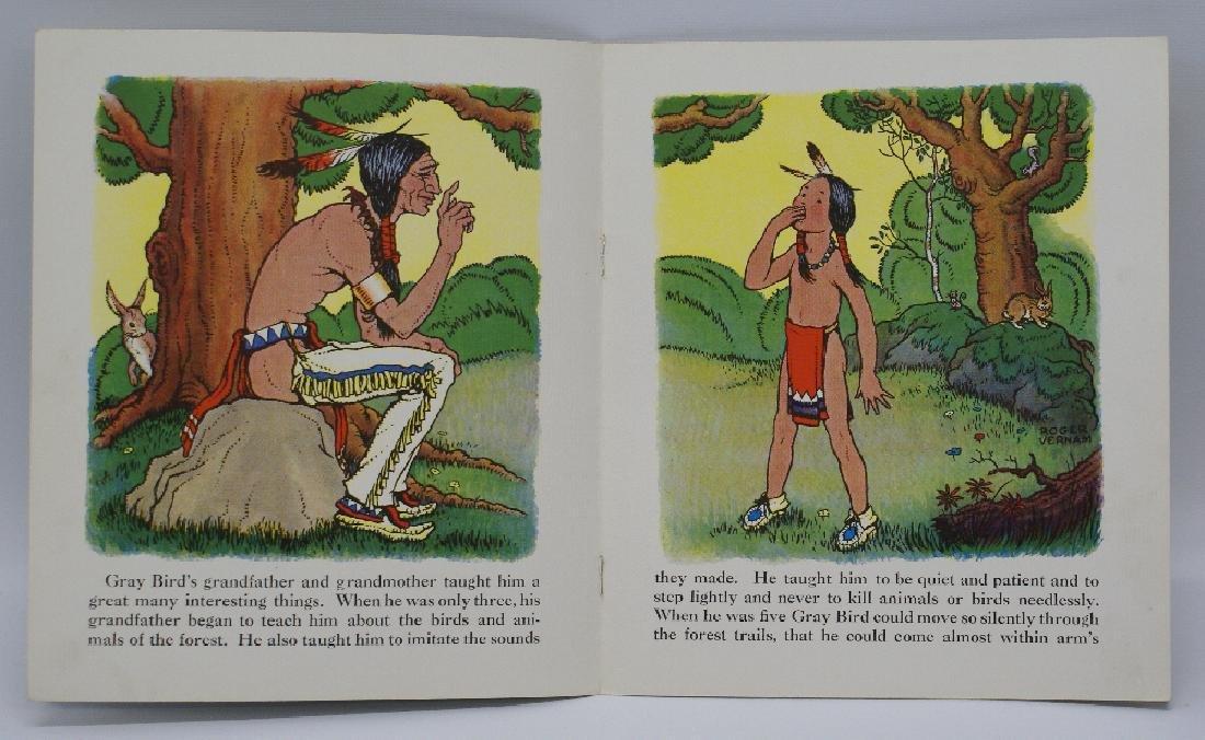 1935 Gray Bird, Little Plains Indian Book, Roger Vernam - 2