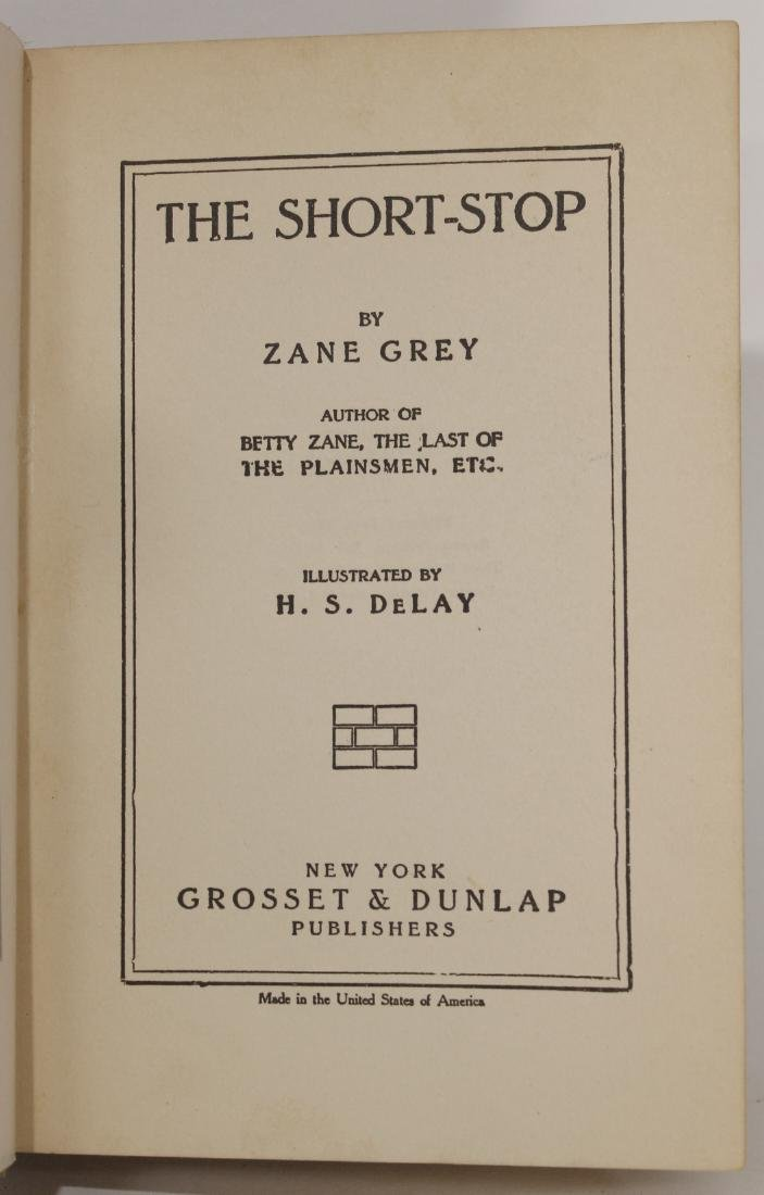 Zane Grey, The Short-Stop - 3