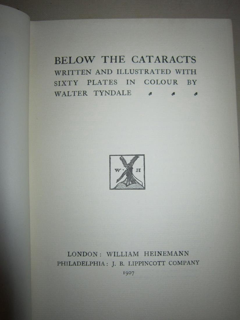 Below the Cataracts Egypt in Color Walter Tyndal 1st Ed - 4