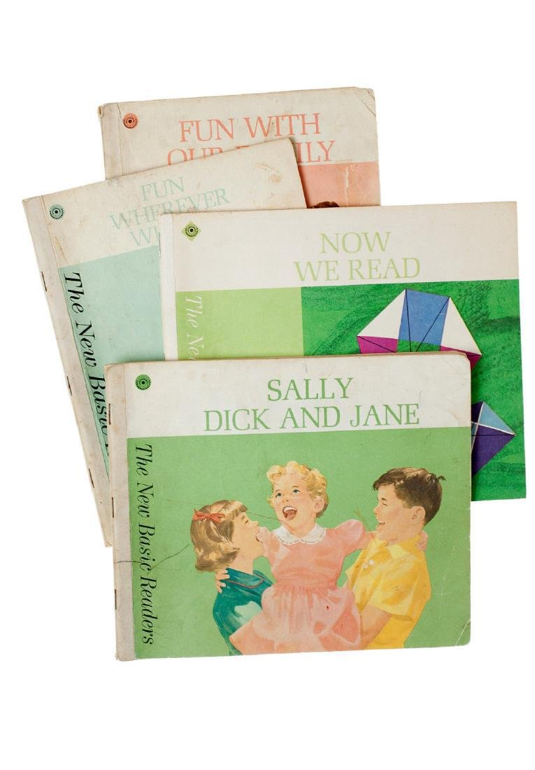 4 Book Lot, Dick and Jane, The New Basic