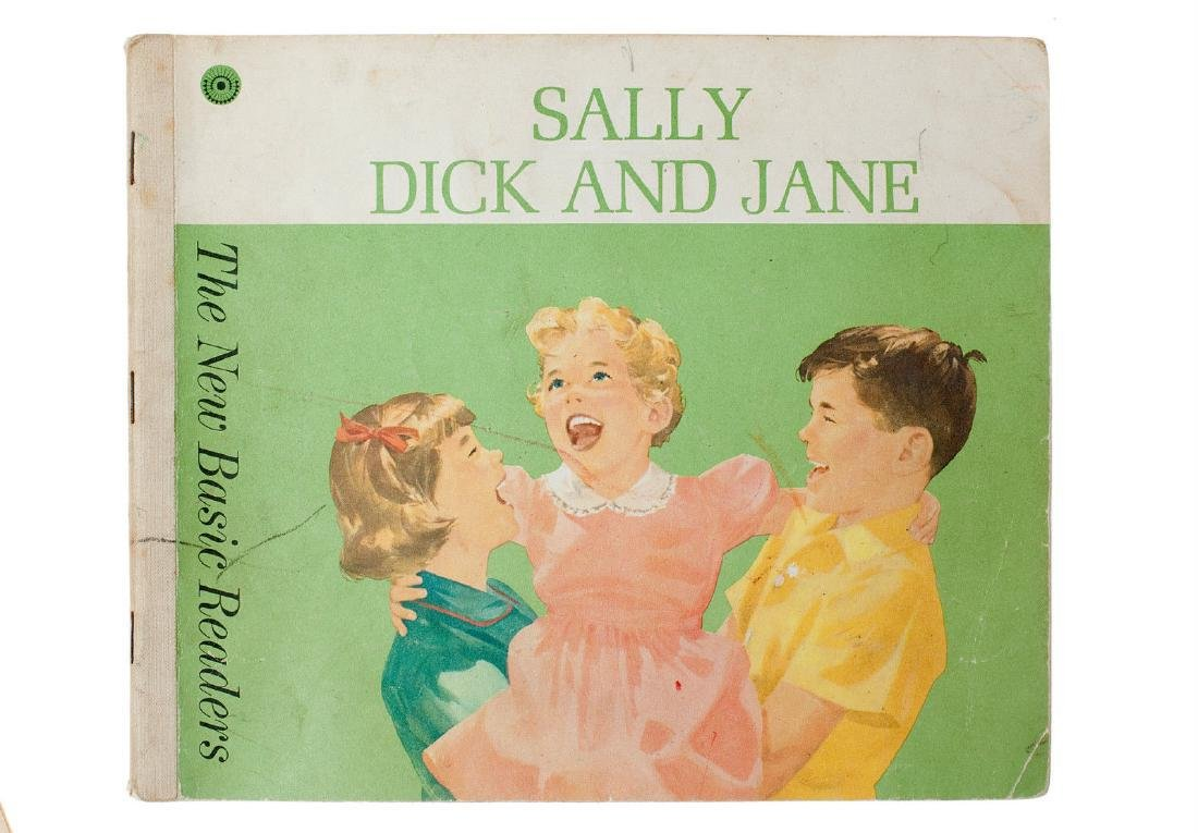 4 Book Lot, Dick and Jane, The New Basic - 3