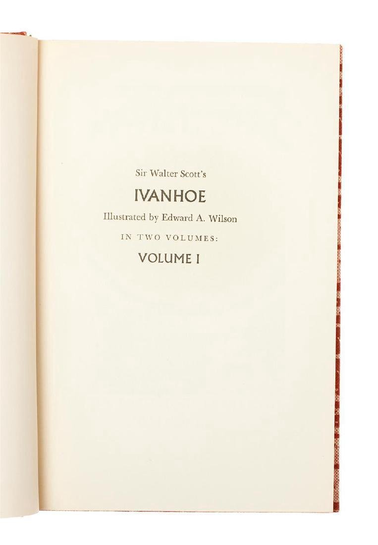 Ivanhoe by Walter Scott Limited Edition - 3