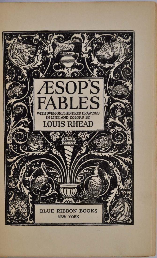 Aesop's Fables by Louis Rhead - 2