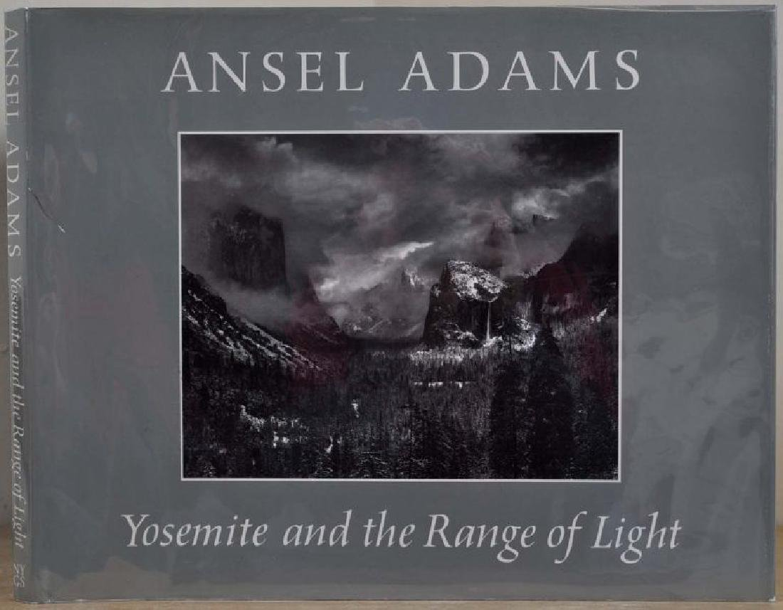 Yosemite and the Range of Light Signed by Ansel Adams