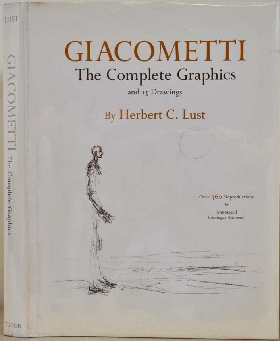 Giacometti, Signed and Inscribed by Herbert Lust