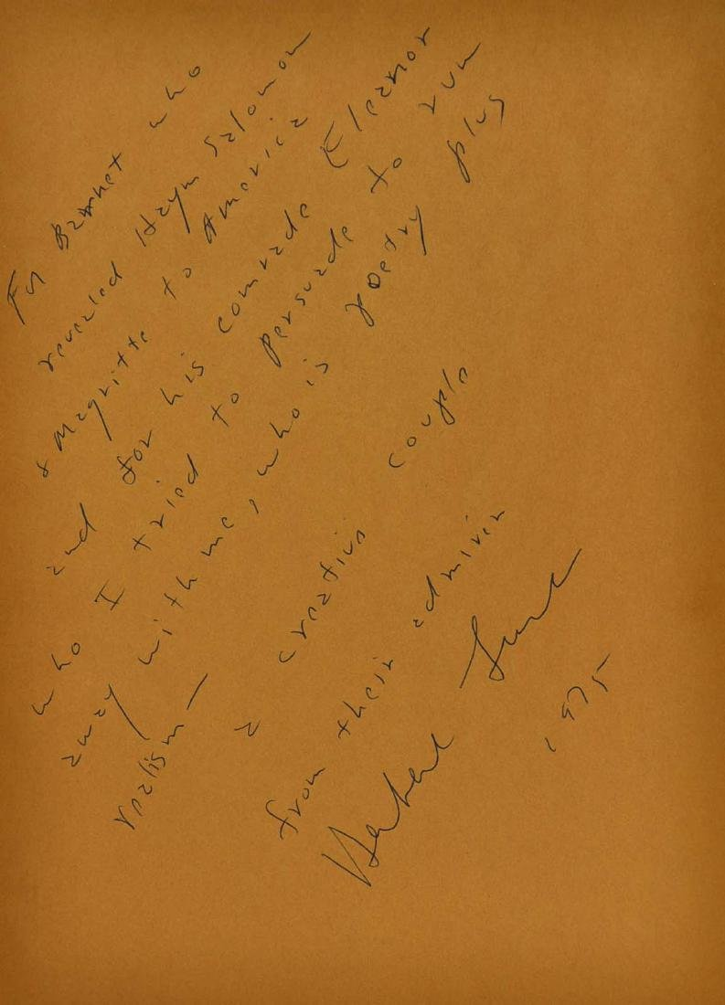 Giacometti, Signed and Inscribed by Herbert Lust - 3