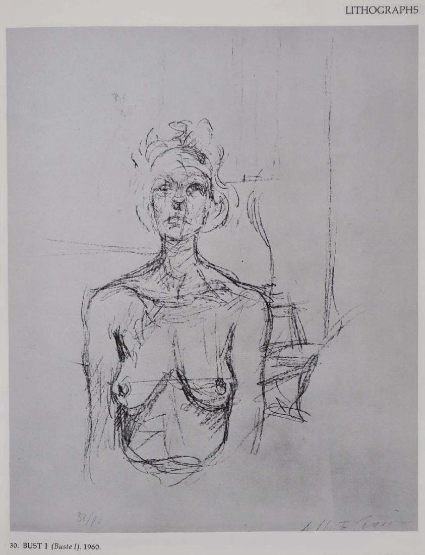 Giacometti, Signed and Inscribed by Herbert Lust - 4