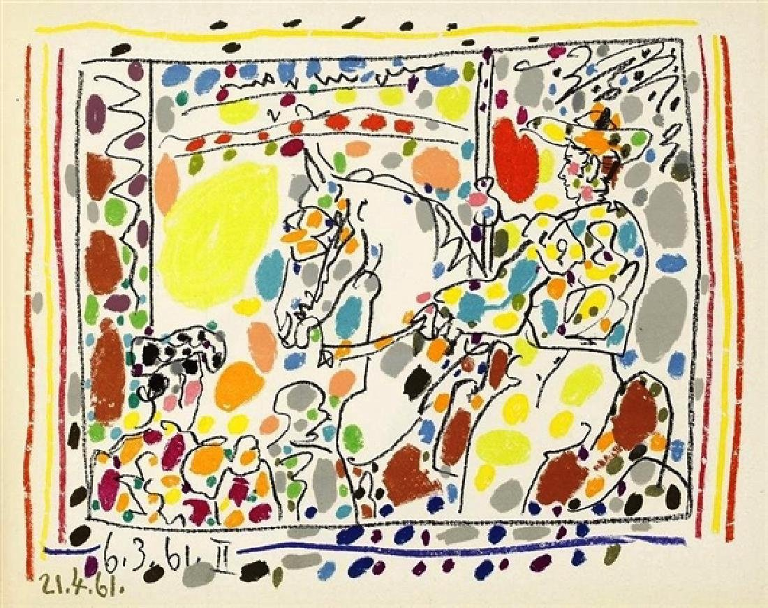 Picasso Toreros With 4 Original Lithographs