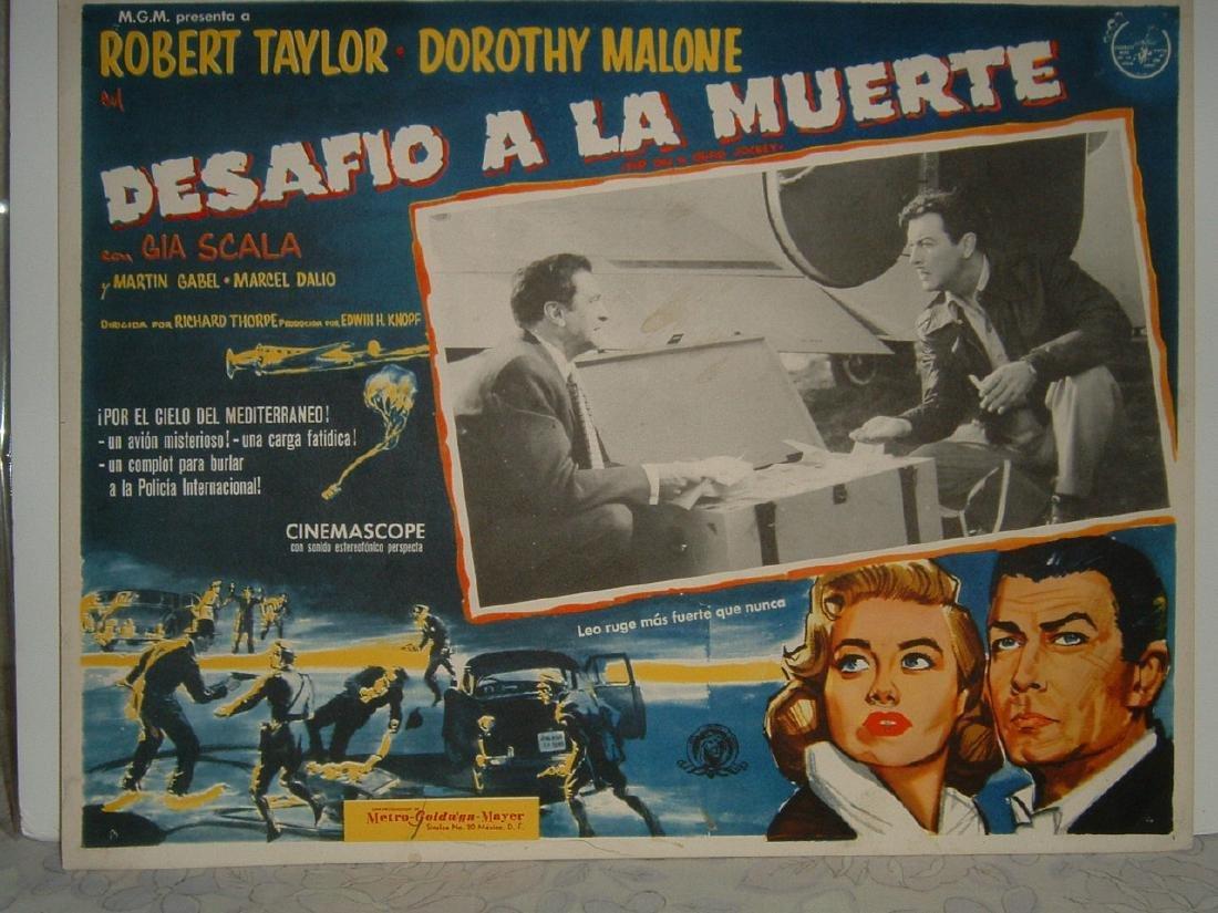 Tip on a Dead Jockey 1957 Poster