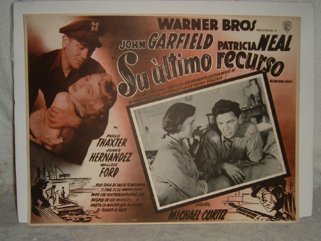 The Breaking Point 1950 Poster