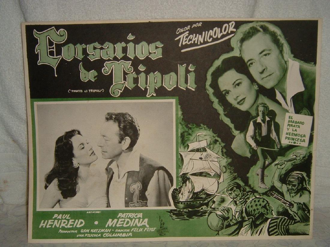 Pirates of Tripoli 1955 Poster