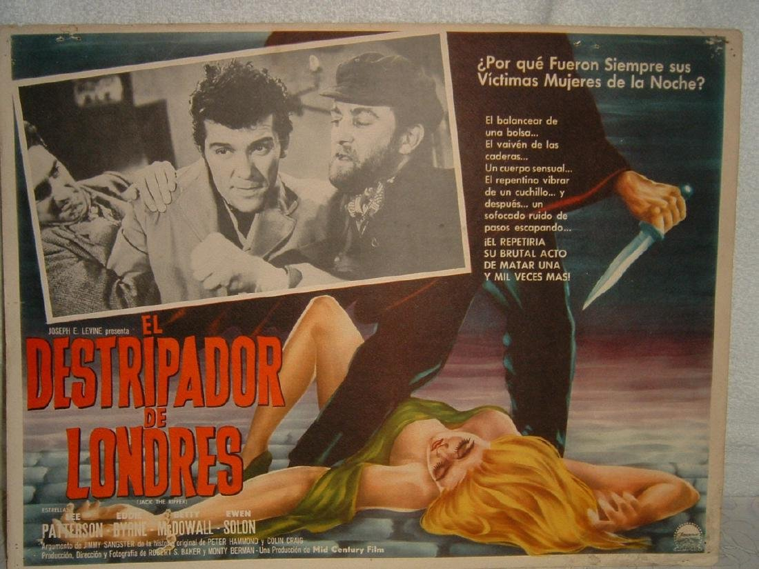 Jack the Ripper 1959 Poster