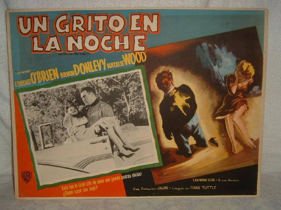 A Cry in the Night 1956 Poster